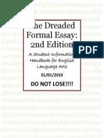 The Dreaded Formal Essay Handbook (Tulp).docx