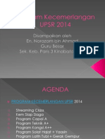 Program Lonjakan UPSR 2014