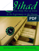 Jihad Holy War Islam and its Legitimacy in Quran