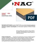 Fonac Pro (Ficha Técnica)
