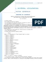 La carte des nouveaux cantons de l'Yonne du JO le 20 février 2014