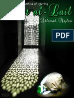 Salat al-Lail - Allamah Muhammad Baqir Al-Majlisi - XKP