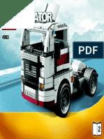 LEGO 4993 Creator Truck Bauanleitung Teil 2.pdf