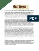 urinetown senior design statement