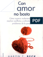 Con El Amor No Basta Aaron Beck