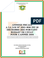 Annexe Fiscale 2014