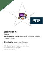 EDEL453 Lesson Plan 1