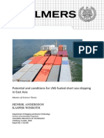 B - Potential and Conditions for LNG Fuelled Short Sea Shipping in East Asia (LNG as Bunker)