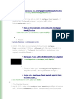 Mortgage Fraud Lawsuits 2-19-2014