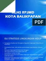 Laporan Hasil Asitensi Teknis KLHS Kota Balikpapan
