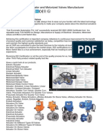 Electric Actuator and Motorized Valves
