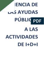 Eficiencia de ayudas públicas a las Actividades de I+D+i