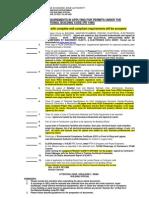 Checklist PEZA Permit