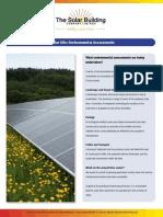 Shalfleet Solar Park Expo Boards