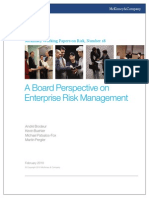 18 a Board Perspective on Enterprise Risk Management