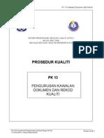 Pk 13 Pengurusan Kawalan Dokumen Dan Rekod-edited