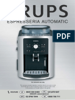 Krupps XP7200 User Manual