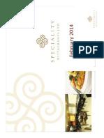 Speciality Restaurants Ltd 170214 Rst