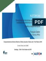 Artículo Alstom, Sismo