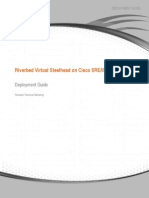 Riverbed Virtual Steelhead on Cisco SRE/ISR G2