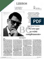Valente, Jose Angel - Entrevistado Por Rodriguez Fer