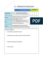 writing checklist 2