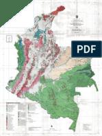 mapa de Colombia-Conservación