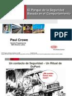 5. Seguridad Basada en El Comportamiento. Ing. Paul Crowe