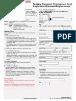 TTCC QUT Application Form