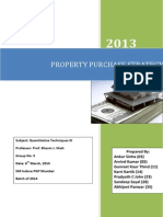 Group 3 - Property Purchase Strategy