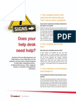 7 Signs Your Help Desk Needs Help