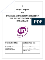 Project Report - Business & Marketing Strategy for Next Generation Broadband