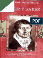 Hegel - Creer y saber.pdf