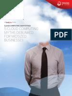 Five Cloud Myths for Midsized Businesses