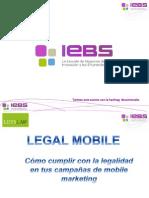 """Presentación webinar """"Aspectos legales del Mobile Marketing"""""""