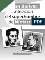 Simn Bolvar Antelacin Del Superhombre de Nietzsche