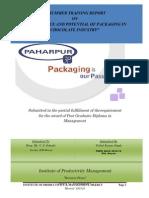 60797517 Packaging in Chocolate Industry