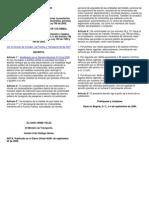 Decreto 2961 de 2006