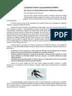 Pozitionarea Piciorului Interior Sau Paralelismul Tibiilor