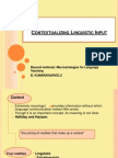 81386636.Chapter 9 Contextualizing Linguistic Input 2012. Powerp