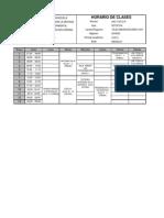 Horario Telecomunicaciones 2-2013 Nuevo