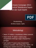 Surviving Sepsis Campaign 2012 Ppt