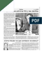 Propuesta Para Eliminar IVU y Planillas