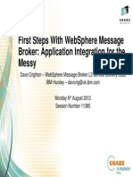 First Steps With WebSphere Message Broker - Application Integration for the Messy