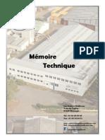 Mémoire technique 2014