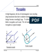 Lecture Notes Waveguides