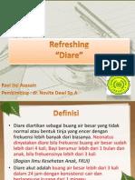 Refreshing Diare Rayi