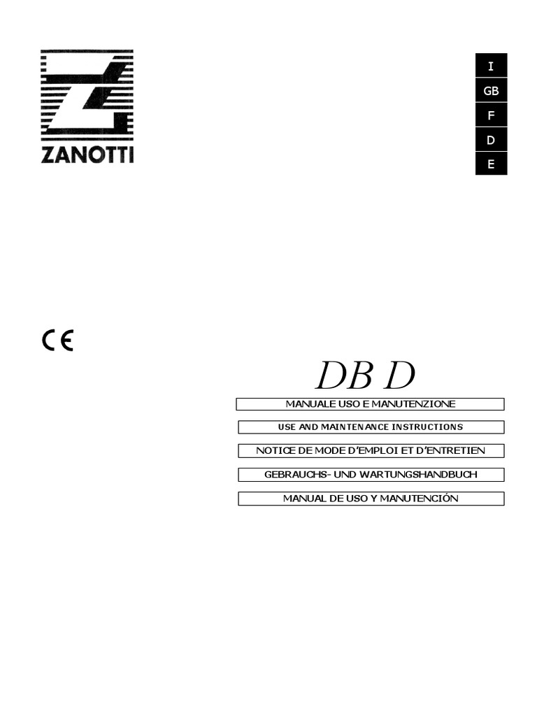 Zanotti Anleitung Dbd