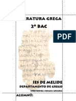 Temario grego 2º BAC. curso 2009-10