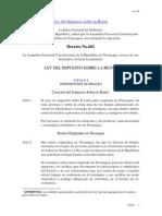 Ley Del Impuesto Sobre La Renta Decreto No. 662